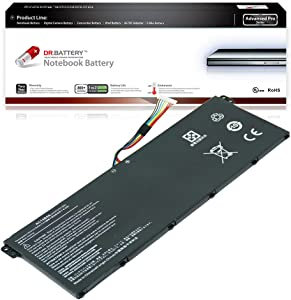 Dr. Battery - Advanced Pro Battery for Acer Aspire A515-51 / A515-51G / A517-51G / E5-771 / E5-771G / ES1-511 / ES1-512 / V3-111P / V3-112P / V3-371 / Chromebook C730 / C810 / C910 / AC14B3K / AC14B8K