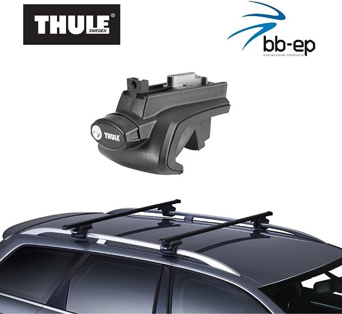 Thule 757 761 Premium Dachträger Komplettsystem Auto
