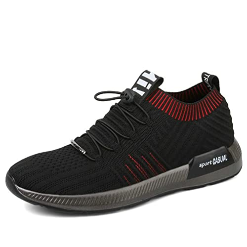 Hombres Calcetines Zapatillas de Verano de Malla Transpirable Zapatos Casuales Encaje hasta Mocasines Zapatillas de luz Calcetines: Amazon.es: Zapatos y ...