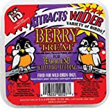 C and S Products CS12527 Berry Treat Suet for Year Round Bird Feeding
