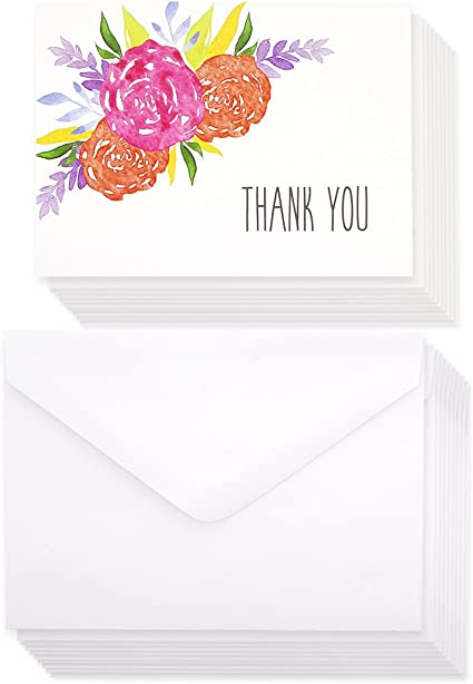 American Greeting Lot of 720 Blank Cards With Envelopes NEW Flowers