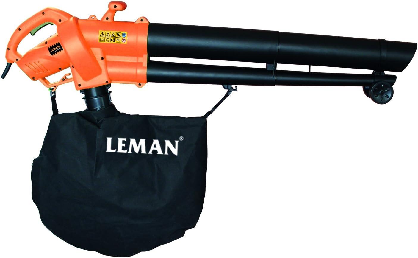 Leman LOSAE250 Soplador/aspirador/triturador (2500 W): Amazon.es: Bricolaje y herramientas