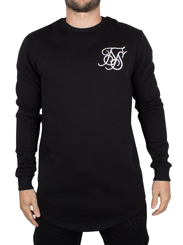 Sik Silk Herren Sweatshirt Black