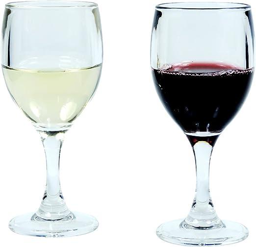 2 WEINGLÄSER GLÄSER Wein Glas klar 14 cm hoch Ø 7 cm