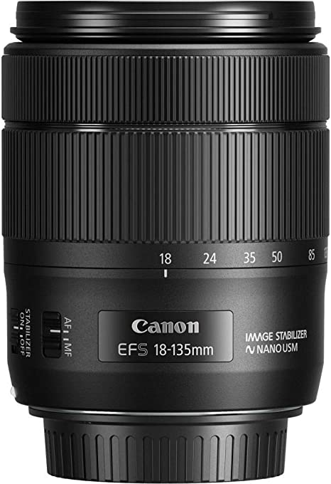 Canon EF-S 18-135mm f/ 3,5-5,6 IS USM: Amazon.es: Electrónica