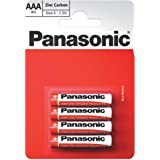 Panasonic 1010 Zinc R03R AAA Micro Battery Poder Especial