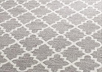 Safavieh MTK810A-5 Montauk Collection Hand Woven and Ivory Cotton Area Rug