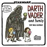 Image of Darth Vader and Family 2017 Wall Calendar