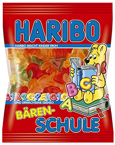 Haribo Baren Schule / Bear School Gummi Candy ( 200 G )