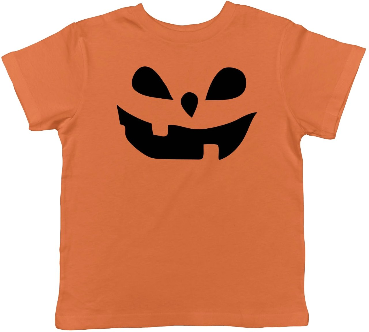 Toddler Teardrop Eyes Pumpkin Face Funny Fall Halloween Spooky T shirt Crazy Dog Tshirts