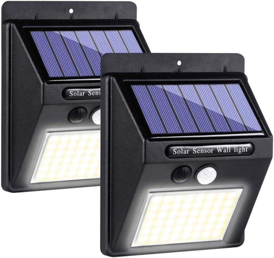 Details about  /140//268 LED Solar Motion Sensor Light Outdoor Lighting Street Solar Powered Wall