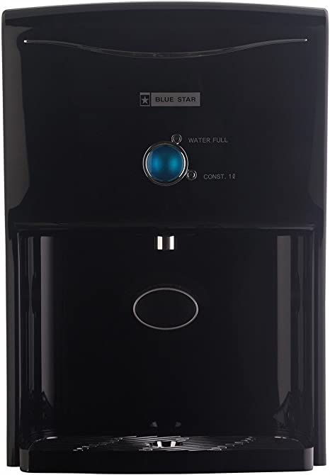 Blue Star Prisma PR4BLAM01 4.2-Litre RO + UV Water Purifier,Black Water Coolers, Filters & Cartridges at amazon