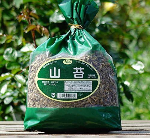 【お手頃サイズ】 山苔 (2.5L) 【資材】 ヤマゴケ やまごけ 保水性 土壌改良材 土壌改良資材