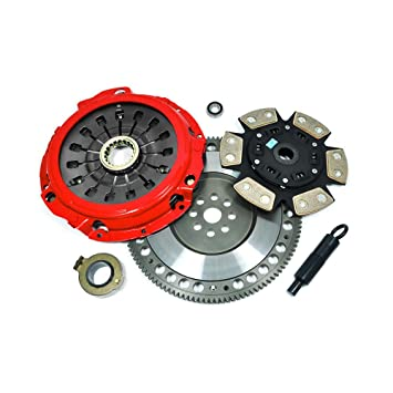 EFT STAGE 3 CLUTCH KIT+FLYWHEEL IMPREZA GT WRX 2.0L TURBO EJ20 JDM EURO