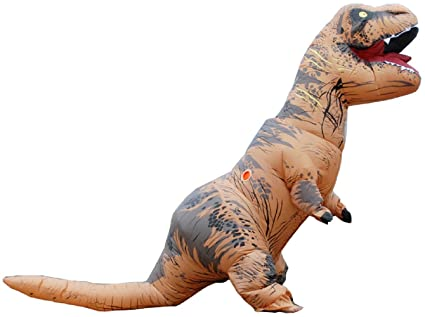 kooy t rex trex dinosaur inflatable costume cosplay halloween