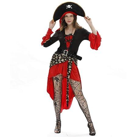 Traje de Halloween Adulto Masquerade Cos Jack Capitán Traje ...