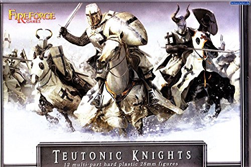 Knight Teutonic - Teutonic Knights - 28mm Hard Plastic figures by Fireforge Games
