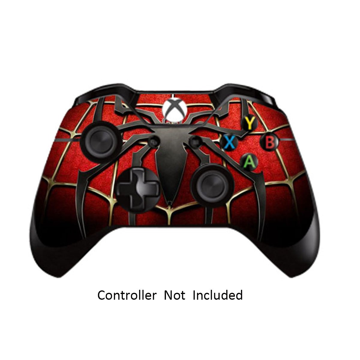Stickers skin decals for xbox one controller custom xbox 1 remote controller leather texture sticker modded x1 accessories decal widow maker black