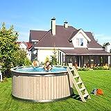 ISIDOR-Pool-Holzpool-Schwimmbecken-Swimmingpool-Rundpool-240x107cm