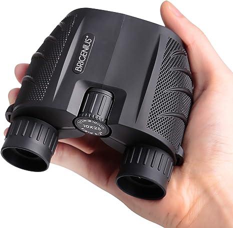 Prismaticos compactos 10x25 para observaci/ón de Aves 0.53 LB binoculares peque/ños Binoculares de visi/ón Nocturna para ni/ños Adultos con Lente BAK4 Roof Prism FMC para Viajes al Aire Libre