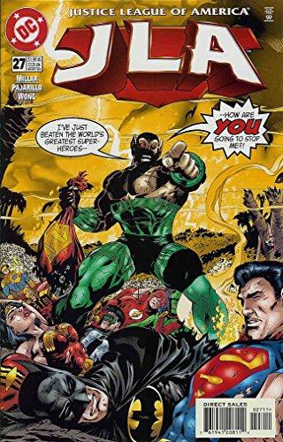 - JLA #27 VF/NM ; DC comic book