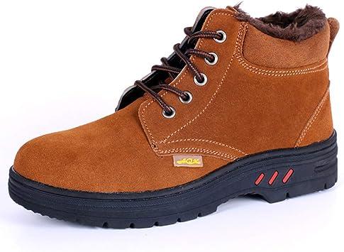 Dxyap Invierno Botas de Seguridad Unisex Zapatos de Seguridad para ...