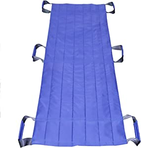 Z-SEAT Patient Slide Sheet with 6 Reinforced Handles, Medical Transfer Bed Pad in Hospital and Home Care,Reusable and Washable Transfer Board,Hospital Bed Patients Positioning Pad