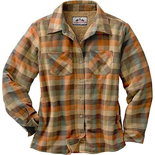 Legendary Whitetails Womens Open Country Shirt Jacket Rustic Medium