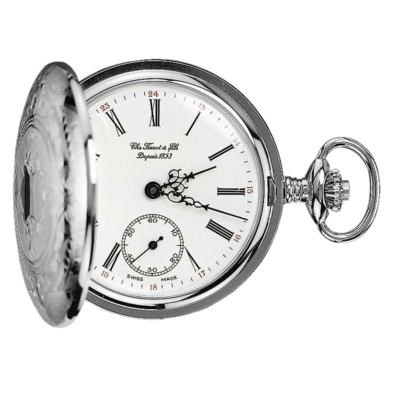 [ティソ]TISSOT 懐中時計 機械式 T83.6.401.13 [正規輸入品] B0083QUGAW