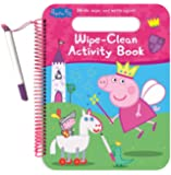 amazoncom peppa pig art activity set with coloring book