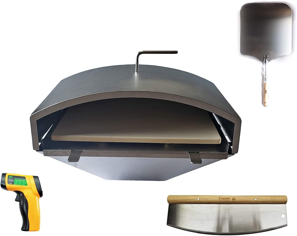 Pellethead Green Mountain Grill Ultimate Wood Fired Pizza Oven Combo Kit