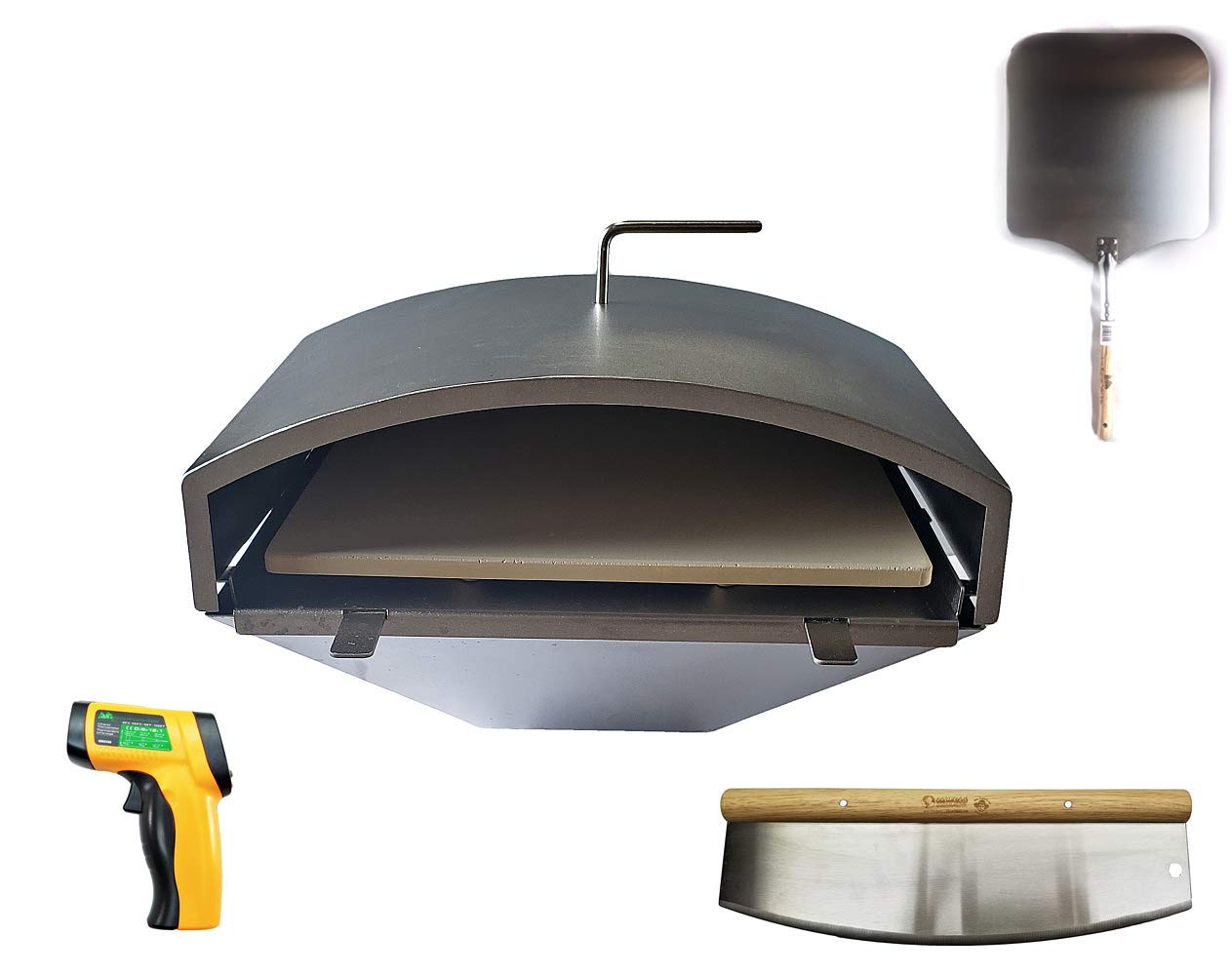 Pellethead Green Mountain Grill Ultimate Wood Fired Pizza Oven Combo Kit by Pellethead
