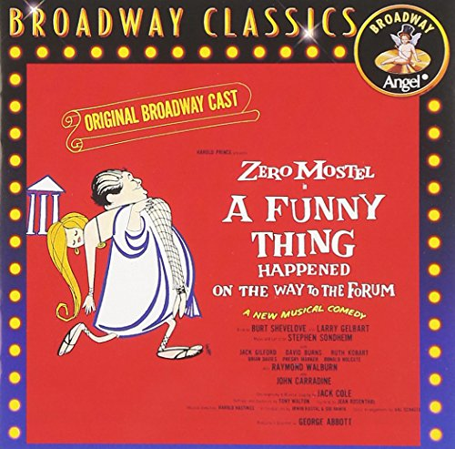 A Funny Thing Happened On The Way To The Forum (1962 Original Broadway - Stores Shops Forum