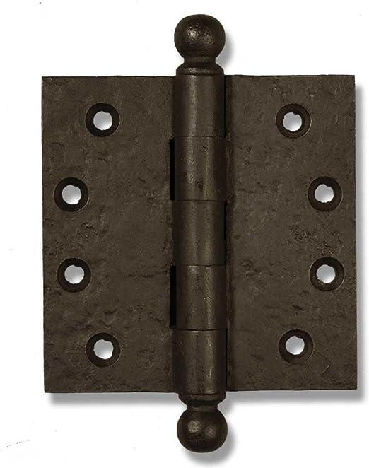 """1 x 3/"""" inch Cast Iron Butt Door Hinge Strong Metal Heavy Duty Rustic Hinges"""