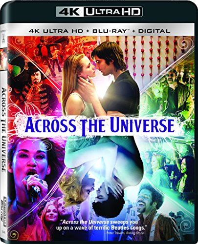4K Blu-ray : Across The Universe (With Blu-Ray, 4K Mastering, Dubbed, , Digitally Mastered in HD)