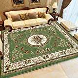 HOMEE Encryption Thick Carpet /Europeantyle Living Room Sofaarpet/Bedroom Bedside Table Mat,J,200X280Cm(79X110Inch)
