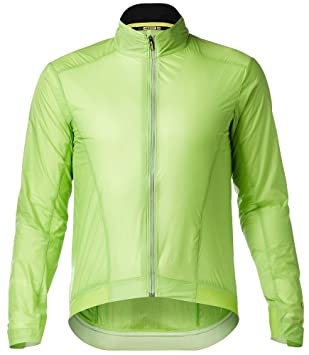 Mavic Essential Bicicleta Wind Chaqueta Verde 2018: Amazon ...