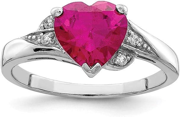 Sterling Silver 925 ROSE GOLD BRIDAL WEDDING SETS DESIGN CLEAR,RUBY CZ RING 5-10