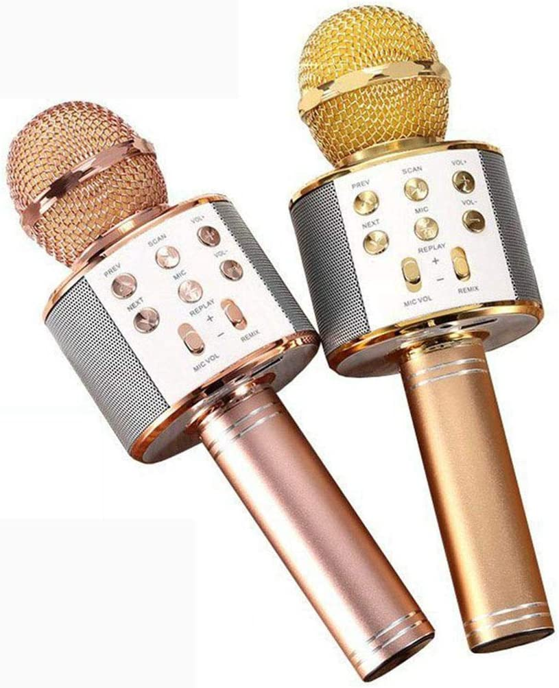 hiriyt Wireless Bluetooth Microphone Audio Mobile Phone Karaoke Microphone Microphones