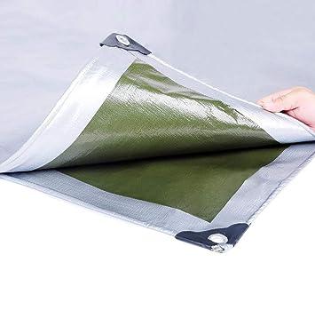 HRFHLHY Engrosado PE Plástico Lluvia Paño Sol Lona Exterior Toldo Ojal Plegable Aislamiento Película Paño Paño Cobertizo,3X4m: Amazon.es: Hogar