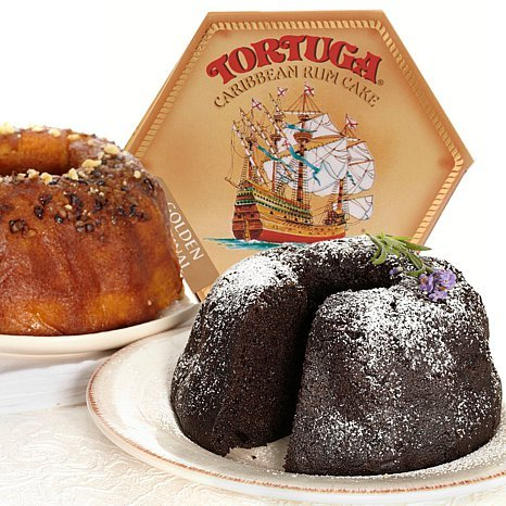 Tortuga Caribbean Rum Cake Assortment - 4 Rum Cakes of 4oz each by Tortuga (Image #1)