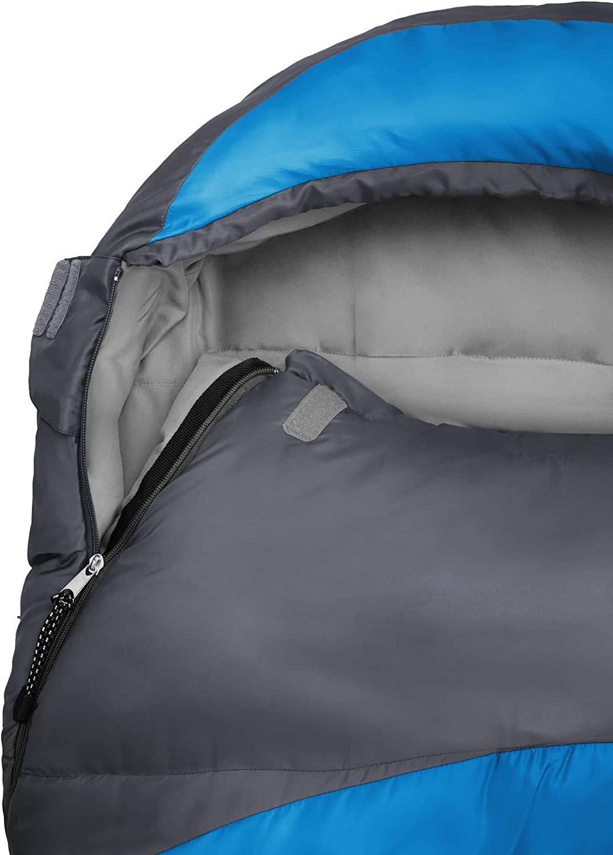 50 x 25 cm Bolsa de Transporte incluida Lumaland Outdoor Saco de Dormir ca ca 230 x 80 cm