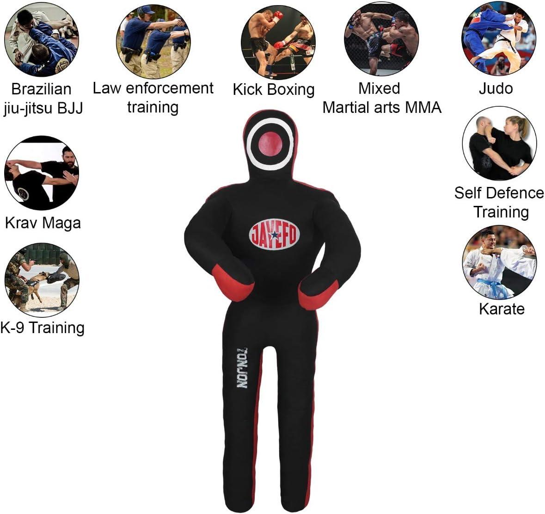 UNFILLED Jayefo TONJON MMA Brazilian JIU Jitsu Grappling Submission Standing Sitting Laying Throwing Dummy Wrestling Dummy Punching Heavy Bag