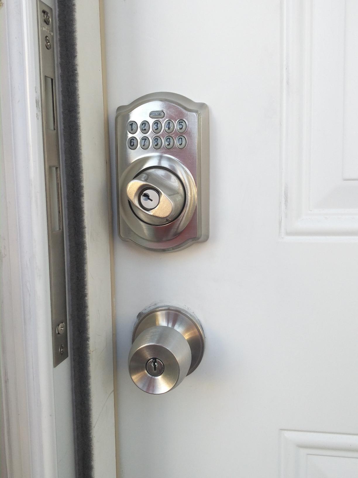 Schlage Camelot Keypad Deadbolt Front Door