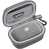 RLSOCO Bärfodral för Sennheiser MOMENTUM True Wireless2 / True Wireless In-Ear hörlurar (grå)
