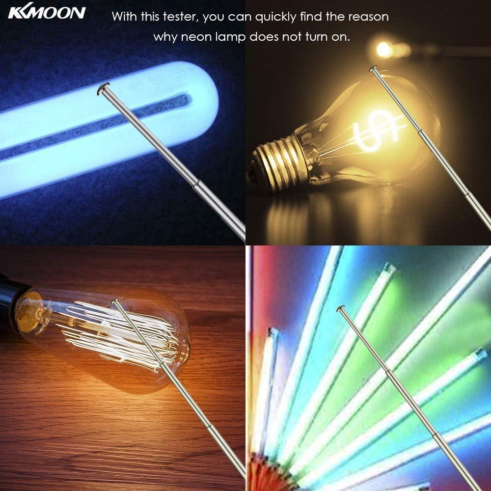 Tester LED per lampadina fluorescente con lampada a tubo al neon portatile