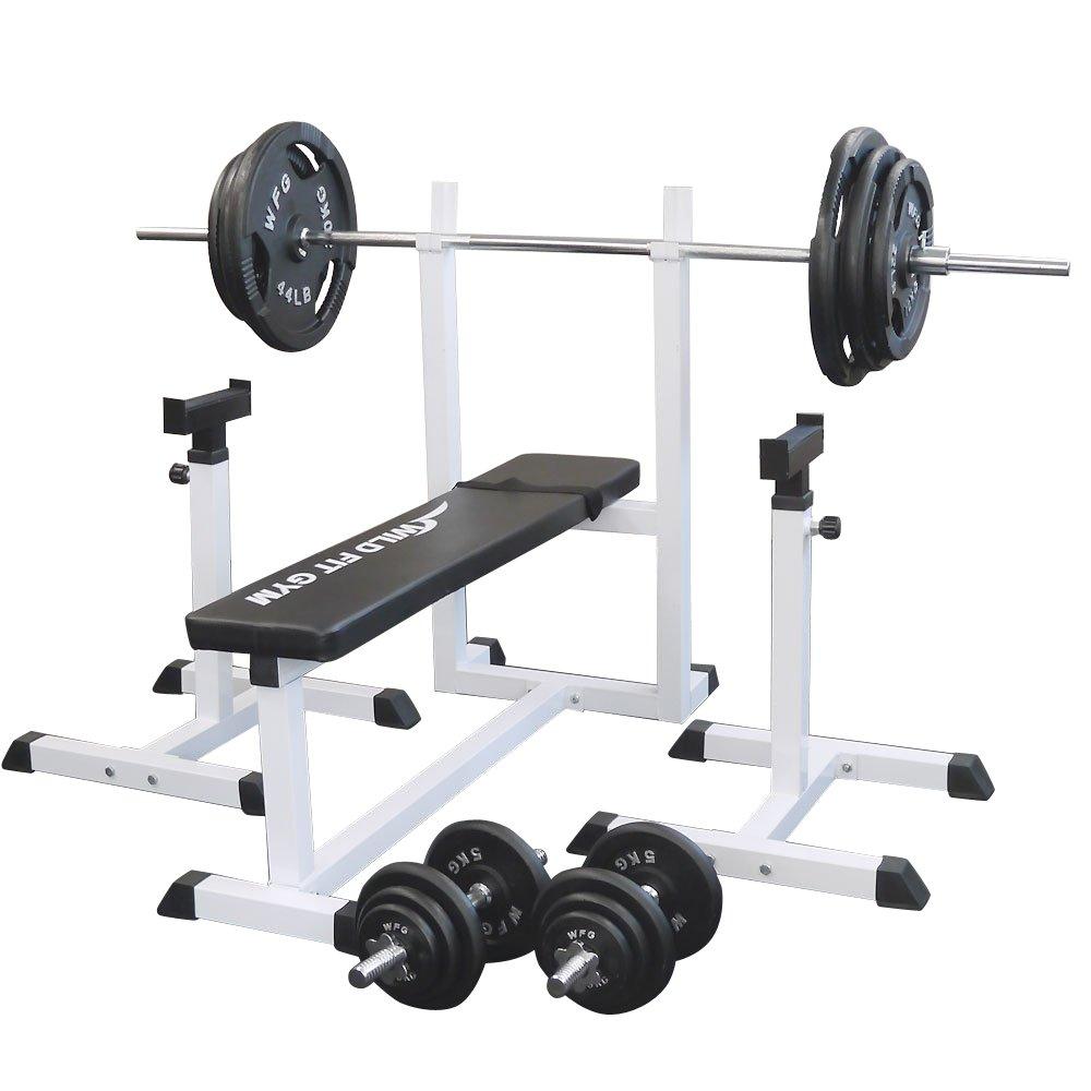 [WILD FIT ワイルドフィット ] トレーニングジムセット アイアン 140kg 大型マシン