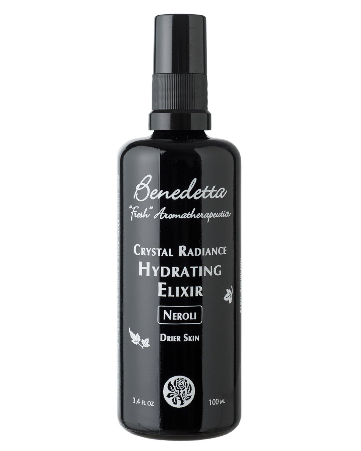 Benedetta Crystal Radiance Hydrating Elixir - Neroli for Drier Skin - 3.4 oz (100 ml)