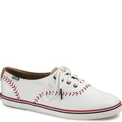 Keds Women's Champion Pennant Baseball Fashion Sneaker | Fashion Sneakers