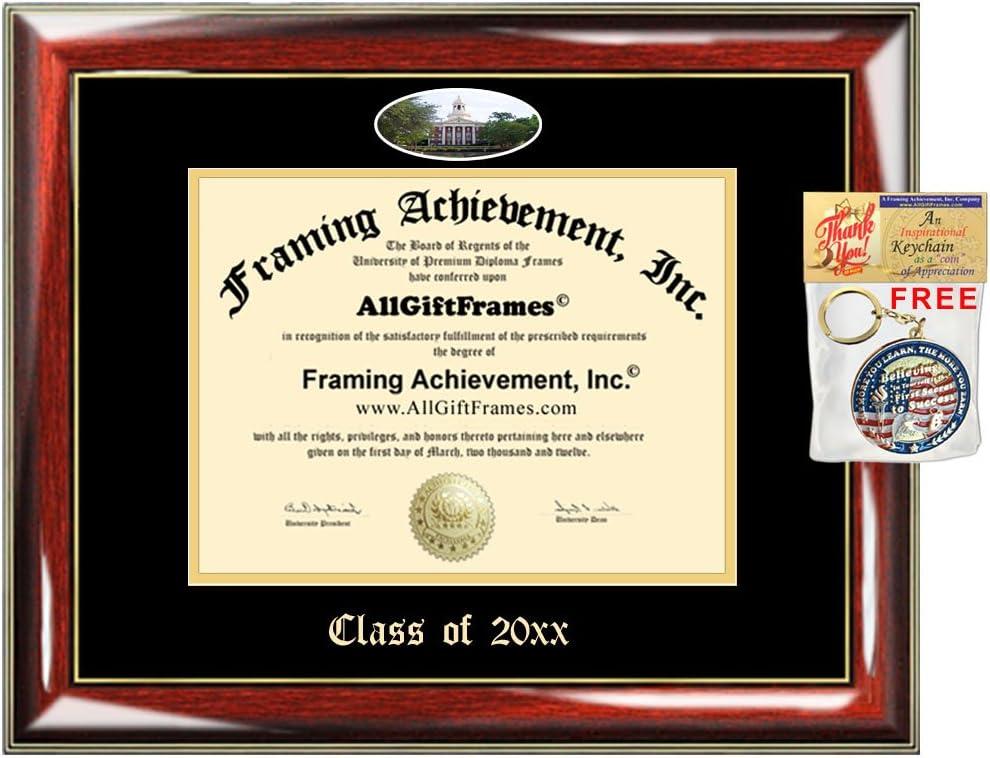 Custom Diploma Frames Embossed Baylor University Best Graduation Degree Frame School Double Mat Campus Fisheye Picture Frame Cheap Degree Certificate Holder Graduate Gift Amazon Co Uk Kitchen Home